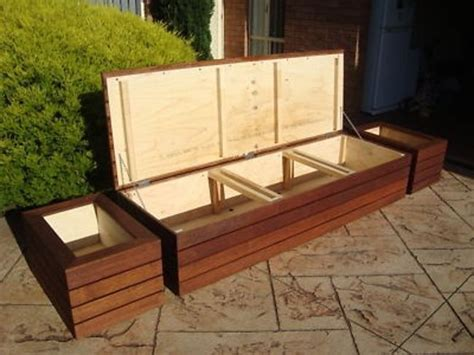 the 25 best outdoor storage benches ideas on
