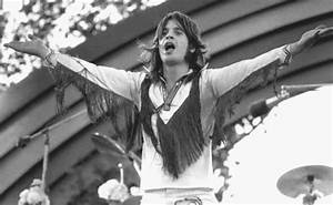 Ozzy Osbourne performing at California Jam with Black ...