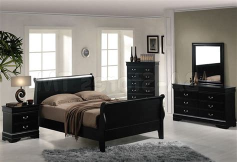 Night Stand Size, Black Full Size Headboard Black Bedstead