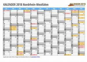 Kalender 2018 nrw zum ausdrucken kalender 2018 for Kalender 2018 nrw pdf