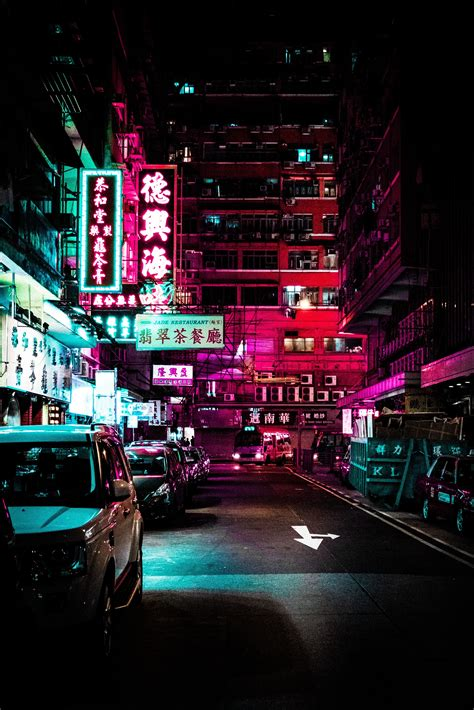 neon street android wallpaper  android