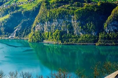 Switzerland Incredibles Landscape Gallen Boat Sankt Gifs