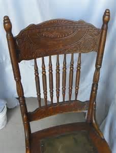 bargain s antiques 187 archive antique set of four oak pressed back chairs larkin