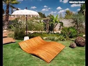 Outdoor Möbel Holz : lounge m bel outdoor liegest hle aus holz youtube ~ Sanjose-hotels-ca.com Haus und Dekorationen