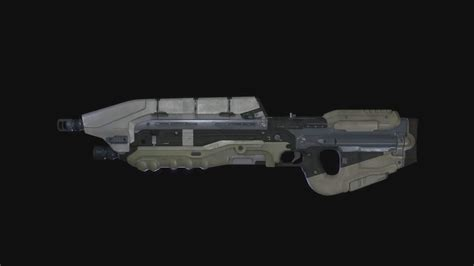 halo  assault rifle gun nuts media