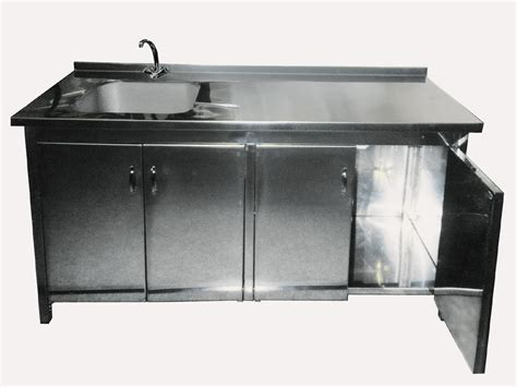stainless steel sink cabinet china cabinet with sink ptcs 715 china cabinet