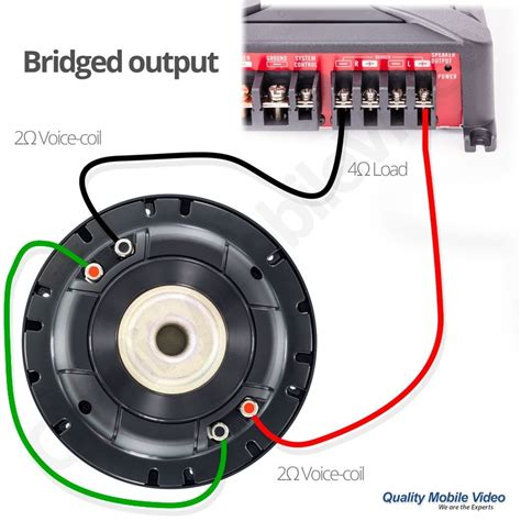 single subwoofer wiring diagram subwoofer lights wiring can you wire dual 4 ohm subs to 2 ohm