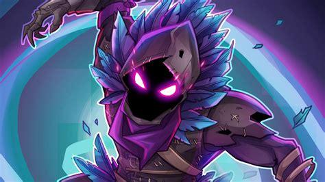 wallpaper raven fortnite battle royale  creative
