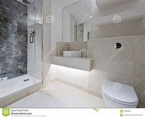Marbre Salle De Bain : salle de bains de luxe avec du marbre images stock image ~ Dailycaller-alerts.com Idées de Décoration