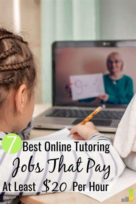 7 Best Online Tutoring Jobs To Make Money - Frugal Rules