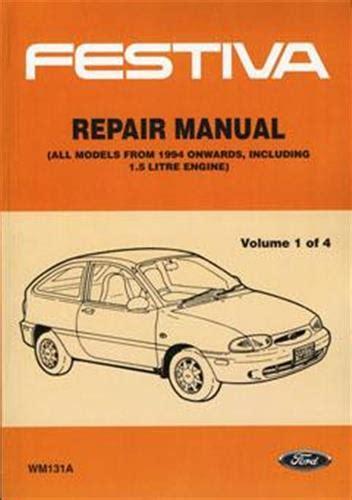 ford festiva service manual