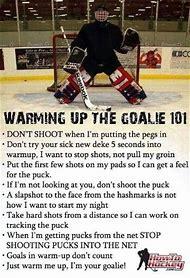 Ice Hockey Goalie Quotes