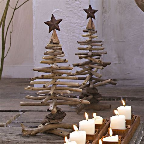 diy branches christmas trees christmas pinterest