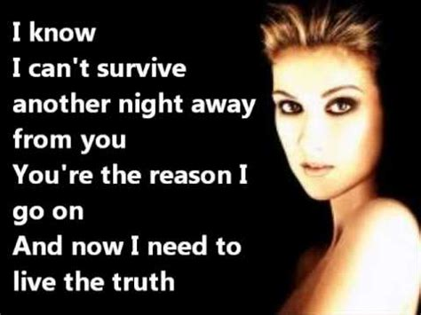 celine dion  surrenderlyrics youtube