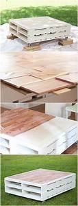 Table En Palette : fabriquer salon de jardin en palette de bois 35 id es ~ Melissatoandfro.com Idées de Décoration