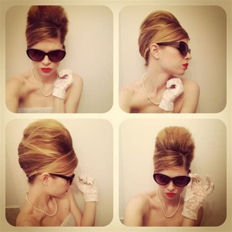 mad style hair the poof madmen hair wedding style 2206