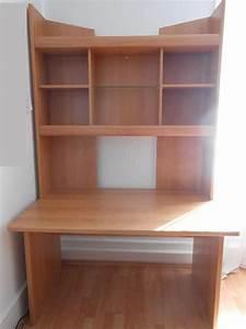 Schreibtisch Mit Regalaufsatz : schreibtisch holz neu und gebraucht kaufen bei ~ Frokenaadalensverden.com Haus und Dekorationen