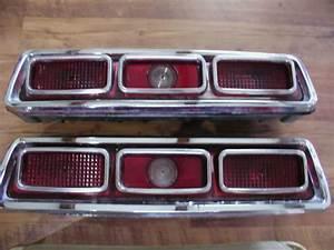 Classic 67 Pontiac Lemans Tail Lights