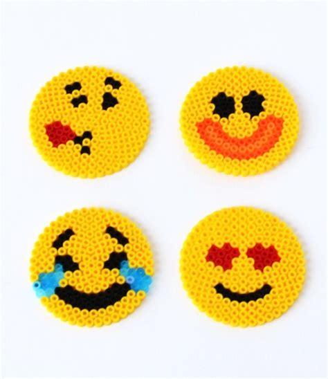 Halloween Hama Bead Patterns by Fun Emoji Perler Bead Patterns Allfreekidscrafts Com