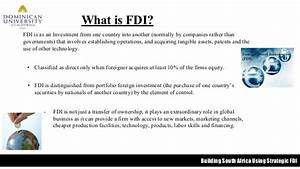 FDI & South Africa PPT., Group 1