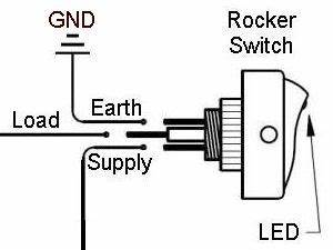 Led Wiring Diagram Mini Rocker : led rocker switch on off different colors amber green ~ A.2002-acura-tl-radio.info Haus und Dekorationen