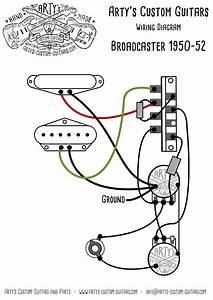 Wiring Diagram Telecaster Custom