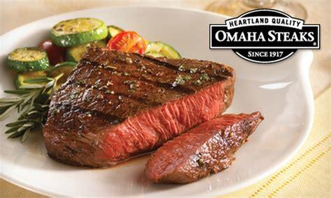 gourmet meat packages omaha steaks  nat groupon