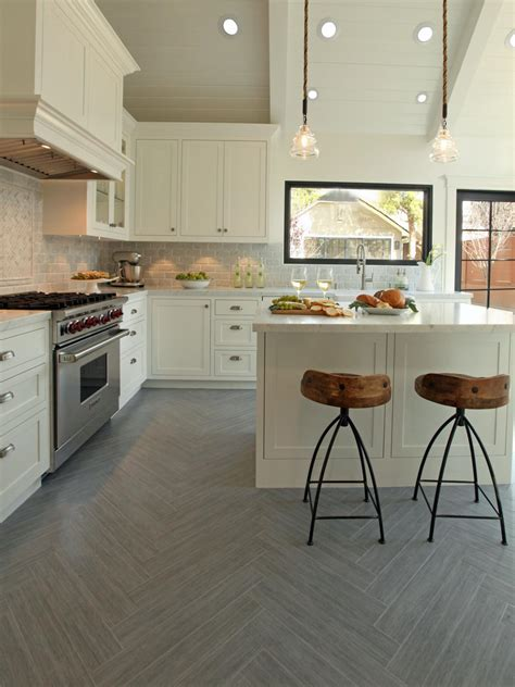 herringbone tile floor kitchen contemporary with accent amazing white kitchen cabinetry set added small kitchen