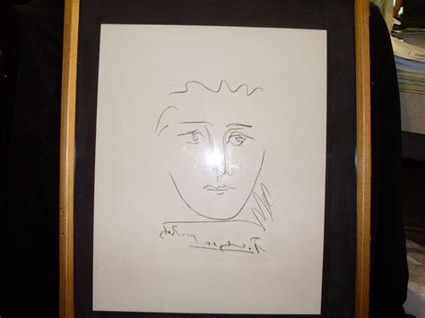 picasso etching pour roby orig  sale antiquescom