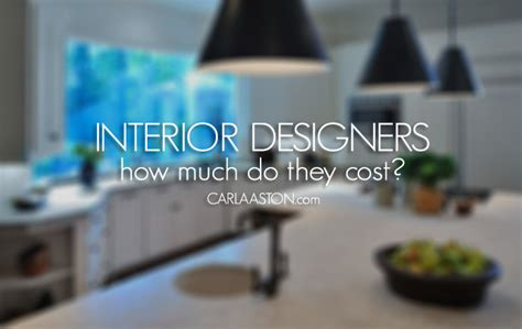 how much do designers make how much does it cost to hire an interior designer