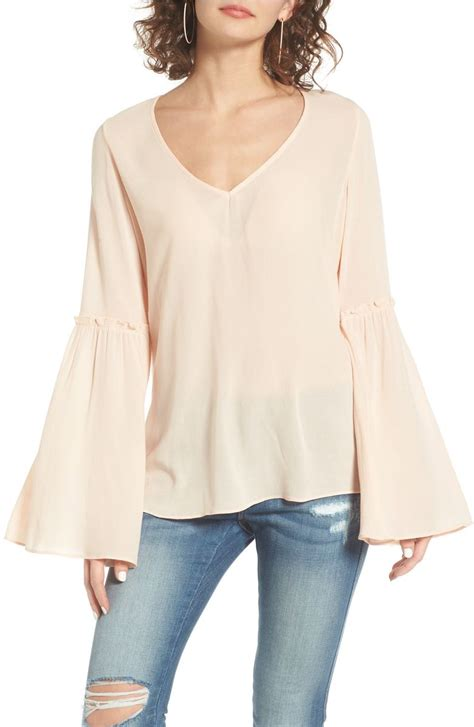 bell sleeve t shirt the best ruffle sleeve tops 50 for summer 2017