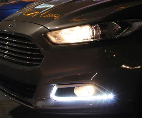 install ford fusion led daytime running lights 2