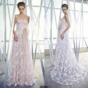 color 2015 a line wedding dresses with sash sweetheart With cheap blush wedding dresses