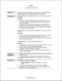 resume format word 2003 resume format in ms word 2003