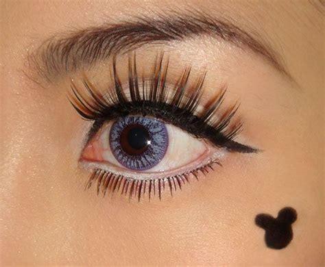 minnie mouse retro eye makeup makeup madness halloween