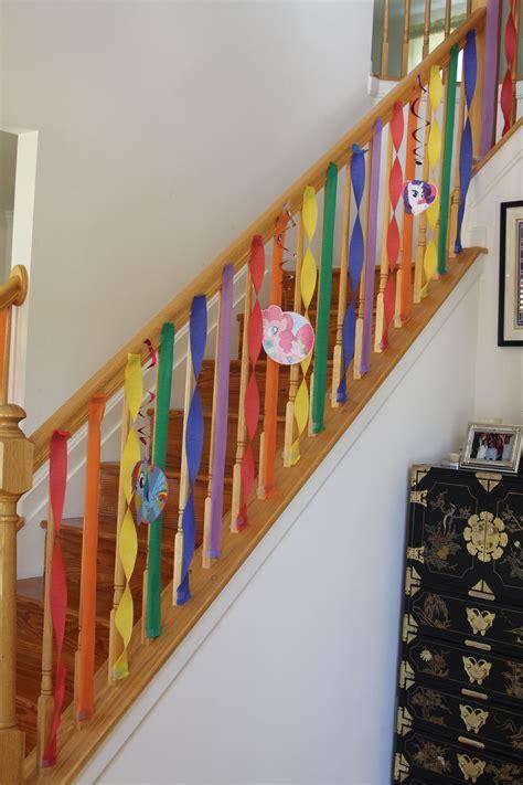 Treppenaufgang Tapezieren Ideen by Gracie S My Pony Rainbow Birthday Streamer