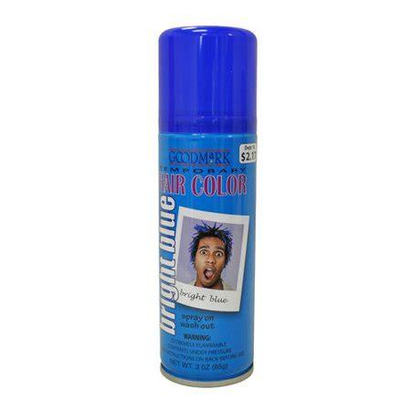 walmart temporary hair color goodmark temporary hair color spray blue walmart