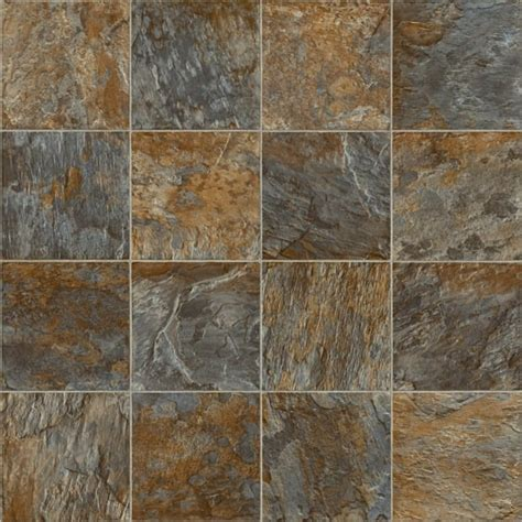 Bronze Slate Vinyl Flooring   Quality Lino   Flooring Direct