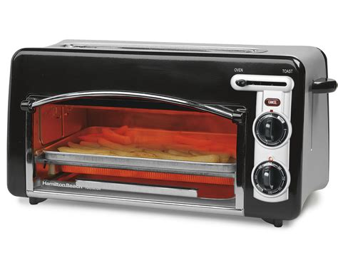 Counter Toaster Oven by The Best Compact Small Mini 2 Slice Counter