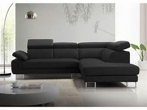 Canapé d'angle en cuir de vachette 5 coloris COLISEE