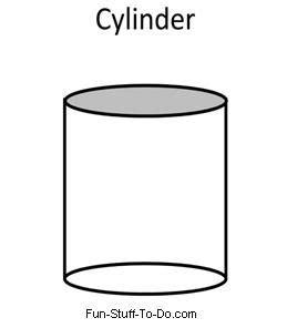 cylinder coloring pages kidsuki