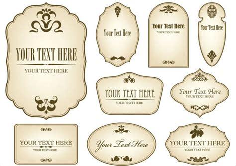 label templates  bottles printable label templates