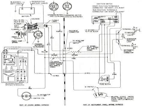 ford external voltage regulator wiring diagram wiring