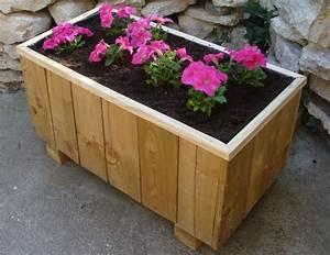 Jardiniere Avec Treillis Carrefour : tutoriel fabriquer un bac fleurs femme2decotv ~ Dailycaller-alerts.com Idées de Décoration