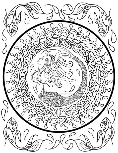 Celtic Knot Coloring Pages For Adults Coloring Home