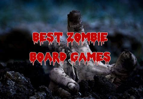 zombie games board play