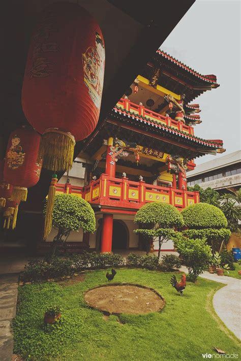 tour du monde à le quartier chinois manille à 300km h manille temple et quartier