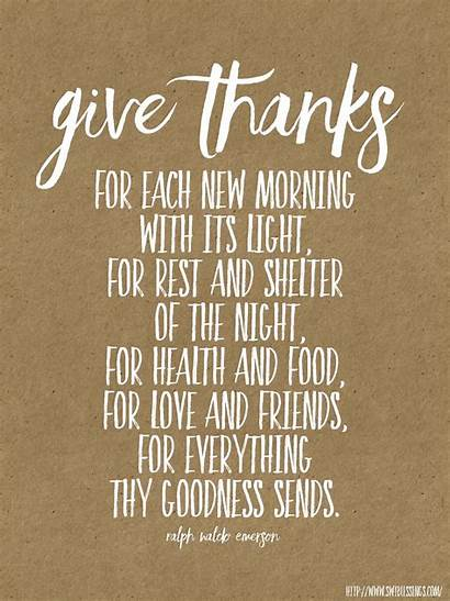 Thanks Give Quotes Blessings Gratitude Christian Bible
