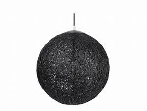 Suspension Rotin Noir : lampe corne acheter ce produit au meilleur prix ~ Teatrodelosmanantiales.com Idées de Décoration