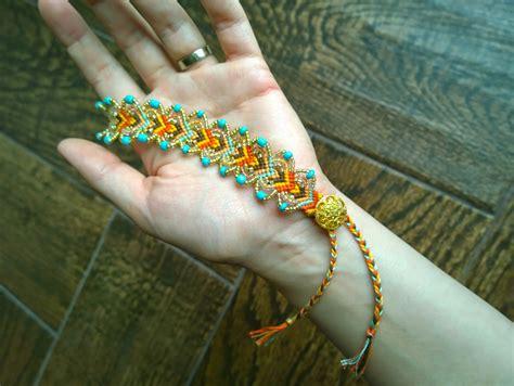 Wonderful Diy Pretty Leaf Friendship Bracelets